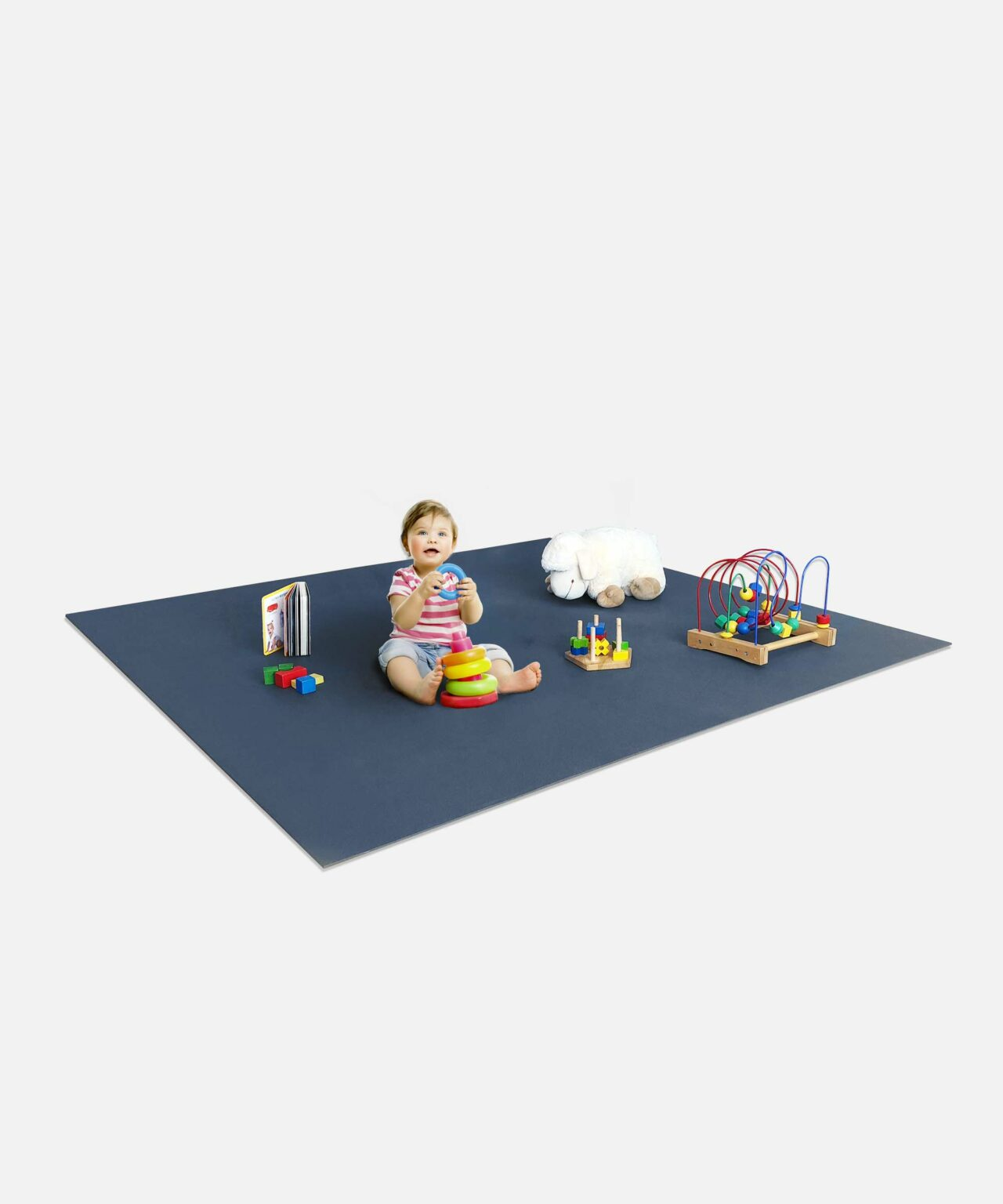 Spielmatte Krabbelmatte mit Farbauswahl