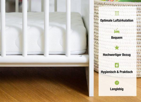 Optimale Luftzirkulation - Bequem - Hochwertiger Bezug - Hygienisch & Praktisch - Langlebig